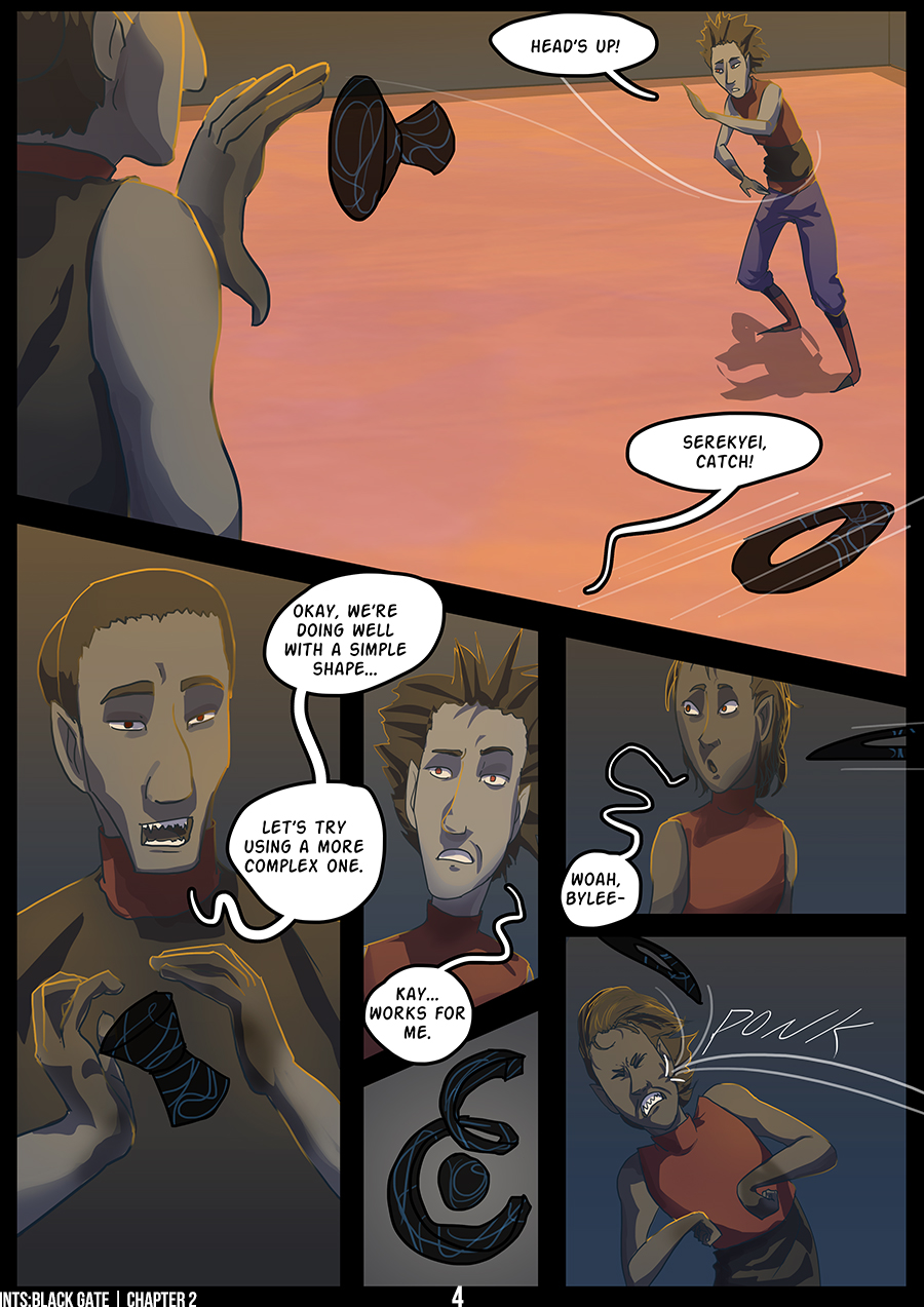 Best Laid Plans: Page 4
